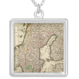 Scandinavia Silver Plated Necklace