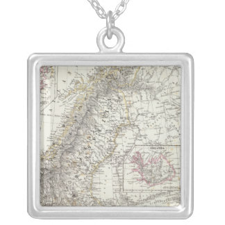 Scandinavia, Sweden, Norway Silver Plated Necklace