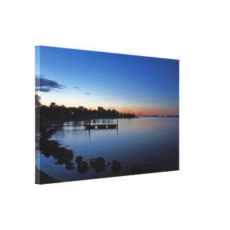 Scandinavian Blue Hour Canvas Print