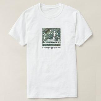 Scandinavian Bronze Age rock art ship T-Shirt