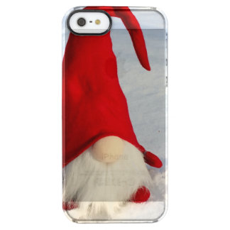 Scandinavian Christmas Gnome Clear iPhone SE/5/5s Case