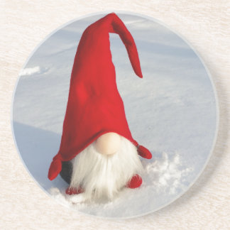 Scandinavian Christmas Gnome Coaster
