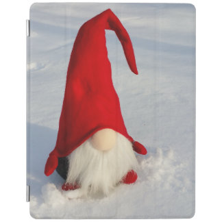 Scandinavian Christmas Gnome iPad Cover