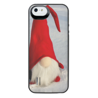 Scandinavian Christmas Gnome iPhone SE/5/5s Battery Case