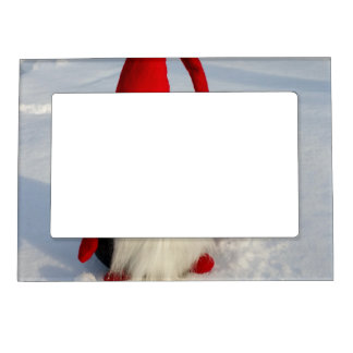 Scandinavian Christmas Gnome Magnetic Picture Frame