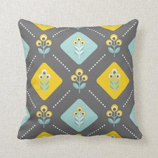 Scandinavian flowers 03, dark cushion