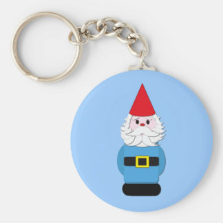 Scandinavian Gnome Key Ring