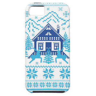 Scandinavian Holiday Design iPhone 5 Cover