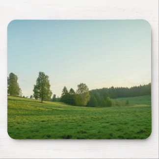 Scandinavian landscape mouse pad
