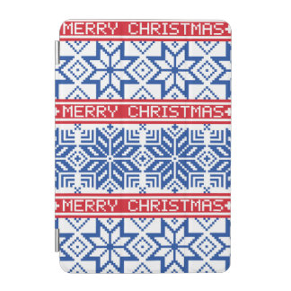 Scandinavian Merry Christmas iPad Mini Cover