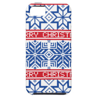 Scandinavian Merry Christmas iPhone 5 Covers
