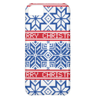 Scandinavian Merry Christmas iPhone 5C Case