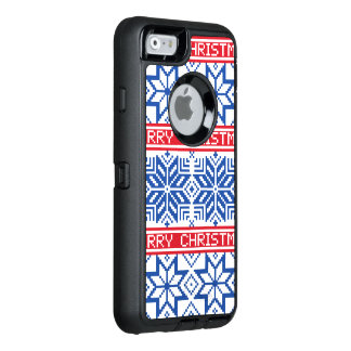 Scandinavian Merry Christmas OtterBox Defender iPhone Case