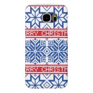 Scandinavian Merry Christmas Samsung Galaxy S6 Cases