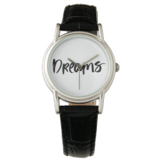 Scandinavian minimalist handwriting black watch