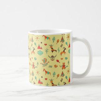 Scandinavian Pattern Classic Coffee Mug