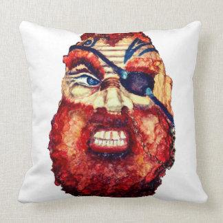 Scandinavian Viking - angry face Viking Cushion