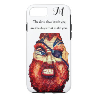 Scandinavian Viking - hand painted iPhone 8/7 Case