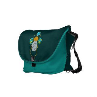 Scarab custom messenger bag