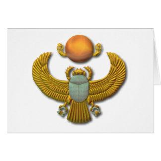 Scarab-gold Card