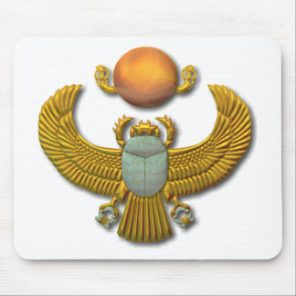 Scarab-gold Mouse Pads