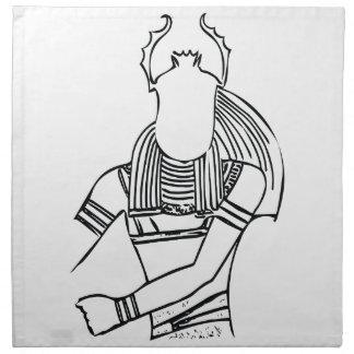 Scarab Pharaoh 1 Napkin