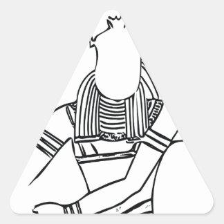 Scarab Pharaoh 1 Triangle Sticker