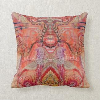 Scarab Printed Pillow