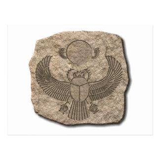 Scarab-stone Post Card