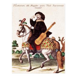 Scaramouche on Horseback Postcard