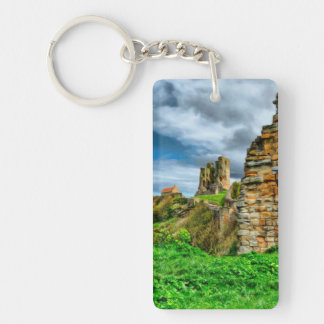 Scarborough Castle Key Ring