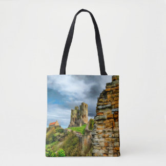 Scarborough Castle Tote Bag