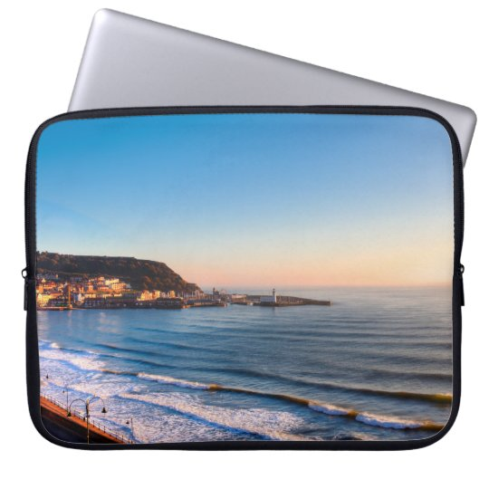Scarborough Coastline Laptop Sleeve