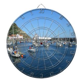 Scarborough harbour dartboard