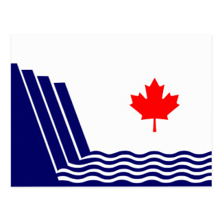 Scarborough, Ontario flag Postcard
