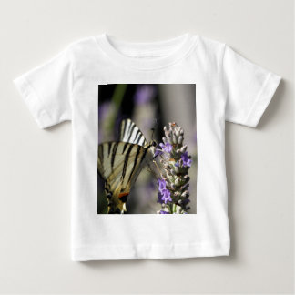 Scarce Swallowtail (Iphiclides podalirius) Baby T-Shirt