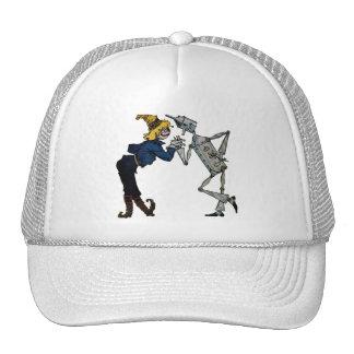Scarecrow and Tin Man Cap