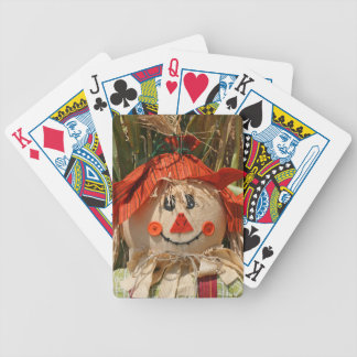 scarecrow bicycle playing cards