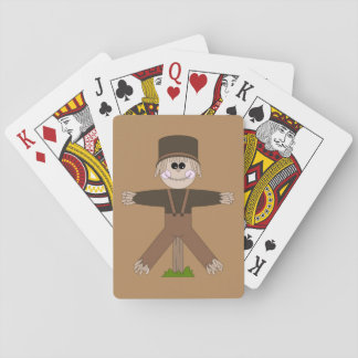 Scarecrow Brown Playing Cards