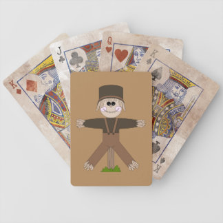 Scarecrow Brown Poker Deck