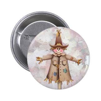 SCARECROW by SHARON SHARPE 6 Cm Round Badge