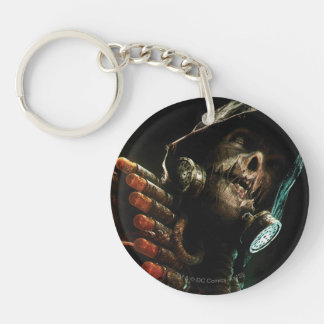Scarecrow Character Art Double-Sided Round Acrylic Key Ring