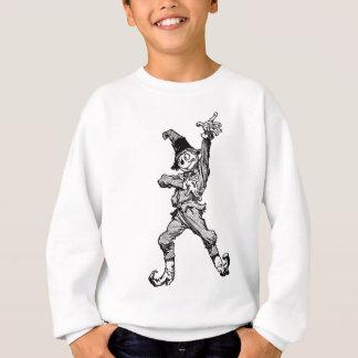 Scarecrow Dancing Disco Style Sweatshirt