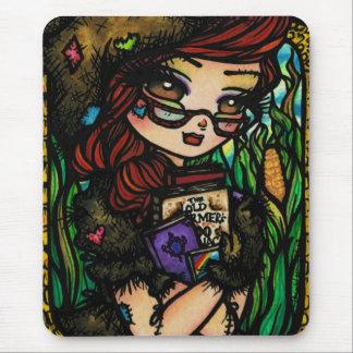 Scarecrow Fairytale Fairy Mouse Pad