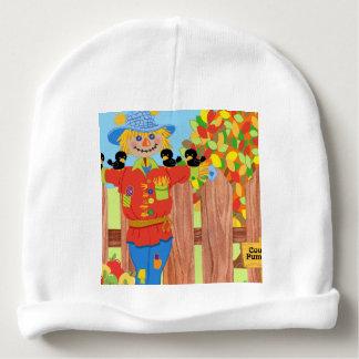 scarecrow fence scene i baby beanie