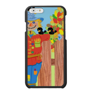 scarecrow fence scene i incipio watson™ iPhone 6 wallet case