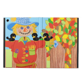 scarecrow fence scene i iPad air case