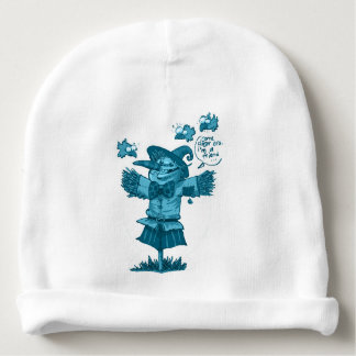 scarecrow gives friendship message cartoon baby beanie