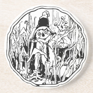 Scarecrow in the Corn Coaster