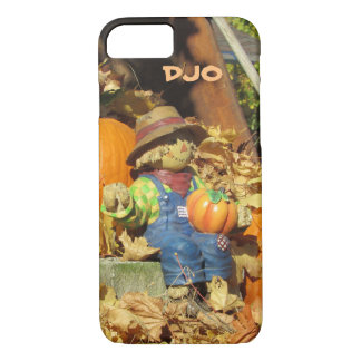Scarecrow King on Pumpkin Throne iPhone 7 Case